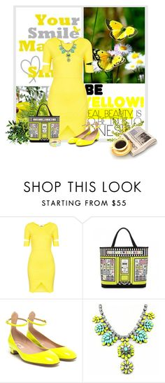 """""""Untitled #4264"""" by sherry7411 on Polyvore featuring Christian Louboutin, Oh My Love, Lulu Guinness, Valentino, Lilly Pulitzer, women's clothing, women's fashion, women, female and woman"""