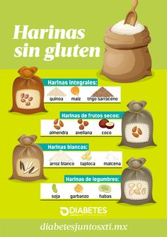 Harinas sin gluten Are you allergic to or have # celiac disease? With these flours you can enjoy cookies Churros Sin Gluten, Pizza Sin Gluten, Gluten Free Recipes, Healthy Recipes, Cooking Measurements, Gluten Free Chocolate Chip Cookies, Food Tasting, Celiac Disease, Gluten Free Flour