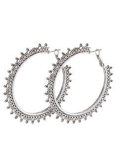 Topshop Boucles d'oreilles - silver-coloured - ZALANDO.BE
