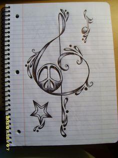Tattoo idea music star