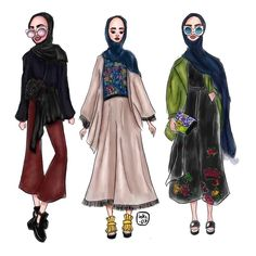 #fashion #illustration #editorial #art #fashionsketch #graphicdesing #graphic #drawing #fashionart #artistic #amazing #sketch #illustration #hijab #hijabart #hijabillustration #muslim #modest #modestfashion