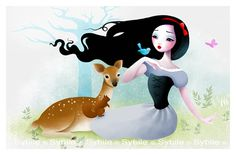 Snow White by Lady Sybile http://www.sybile.net/art/