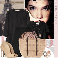 """""""Romance in Paris - Boticca"""" by bklana ❤ liked on Polyvore"""