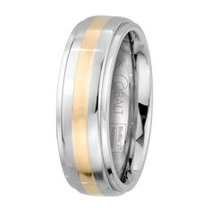 "There are a couple of key things your groom should know: If he's right-handed, he'll never get an accurate wedding band fit on that hand because the left-hand ring size is usually a half or even a full size smaller. His band does not have to match yours. A plain gold band is the logical choice, but there are lots of great choices that can still be ""conservative"" or ""traditional"" without being boring. It's a look we kept in mind when selecting the styles we show here, but of course we al..."