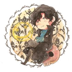 Sherlock .:Commission:. by GYRHS.deviantart.com on @DeviantArt