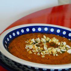 Jem Krem: Zupa - krem Marrakesz z ciecierzycy i batatów