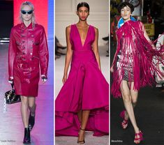Spring/ Summer 2016 Color Trends: Raspberry Punch  #trends #fashion #SS2016