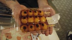 Mitarashi Dango (rice dumplings covered in sweet soy sauce)
