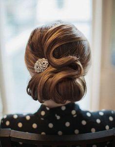 Coiffure vintage chic - Coiffure vintage : nos plus belles inspirations pour un look glamour - Elle