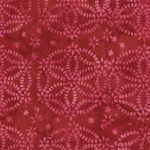 Timeless Treasures Fabrics Rose Tonga Batiks by Judy Neimeyer Cherry Red Chain Medallion Batik