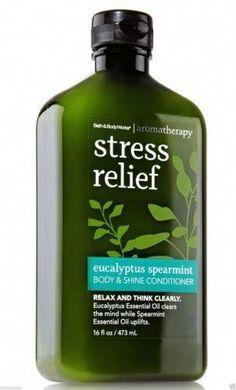 Body Lotions & Moisturizers Liberal Lot 3-bath And Body Works Aromatherapy Eucalyptus Spearmint Body Wash 10 Fl Oz.