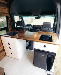 Van Conversion Interior, Camper Van Conversion Diy, Van Conversion Curtains, Motorhome Conversions, Astuces Camping-car, Iveco Daily 4x4, Vw Camping, Camping Hacks, Camping Essentials