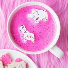 No better way to warm up than with hot pink hot chocolate  (via: @studiodiy)  via SEVENTEEN MAGAZINE OFFICIAL INSTAGRAM - Follow FabArmy for : Celebrity  Fashion  Haute Couture  Advertising  Culture  Beauty  Editorial Photography  Magazine Covers  Supermodels  Runway Models