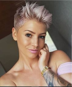58 Hottest Shaved Side Short Pixie Haircuts Ideas For Woman In 2019 - Page 41 of 58 - Fashion Lifestyle Blog