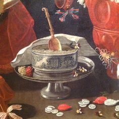 Josefa de Ayala, Still life with sweets and pottery, signed and dated