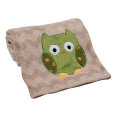 Owl Applique Blanket