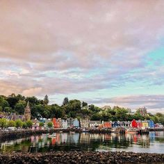 Tobermory the capital of the Isle of Mull, Scotland.