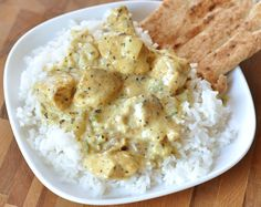Mel's Kitchen Cafe | Basil Chicken in Coconut Curry Sauce- A keeper! If it's curry, I love it! -Alexis