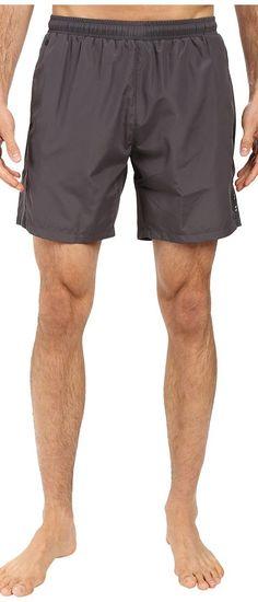 BOSS Hugo Boss Seabream 10180964 02 (Dark Grey) Men's Swimwear - BOSS Hugo Boss, Seabream 10180964 02, 5031766345300-453, Apparel Bottom Swimwear, Swimwear, Bottom, Apparel, Clothes Clothing, Gift, - Street Fashion And Style Ideas