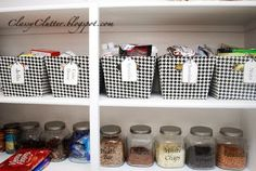 Pantry Tags Printable