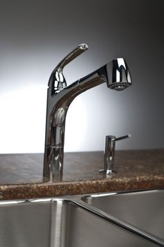 Gourmet Pull-out Spray Kitchen Faucet LKGT1041
