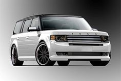 ford flex sema | Ford Bringing More Than a Dozen Custom Flex Creations to SEMA ...