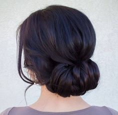 Low buns.  #fashion #style #clothing