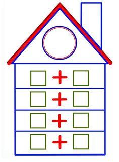 casa de números Math Assessment, Montessori Math, Math 2, Handwriting Worksheets, Math Addition, Math Numbers, Math For Kids, Preschool Worksheets, Teaching Math