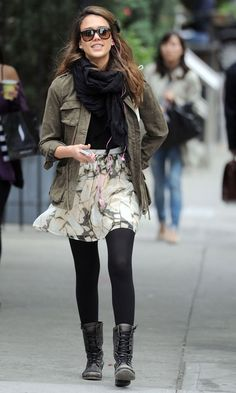 Jessica Alba - The Queen Of Casual Fashion - Out In NYC, 2012