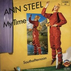 "Ann Steel - My Time (7"")  Unearthly voice, robotic beauty.  Listen:  http://www.ponytone.com/2010/11/ann-steel-my-time-7-1979.html"