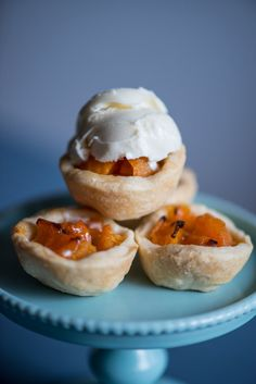 Petite Apricot Pies | Anecdotes and Apple Cores