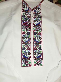 Embroidery Techniques, Cross Stitch Embroidery, Floral Tie, Kimono Top, Geek Stuff, Pattern, Clothes, Women, Style