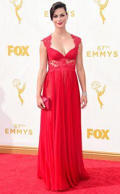 Morena Baccarin - Emmy Awards 2015 - Red Carpet Arrivals