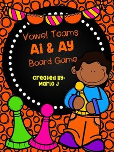 Ai and Ay game -- 24 task cards and game board