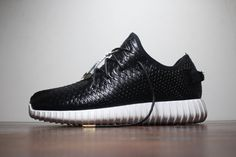 purchase cheap 7bd3c 7ec61 hombres Yeezy 350 Boost Negro Blanco Adidas Originals Trainers Zapatos  AQ2658