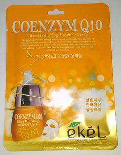 Ekel Coenzym Q10 Ultra Hydrating Essence Mask K-Beauty 1pcs #EKEL