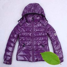 Moncler Kids Jackets Purple