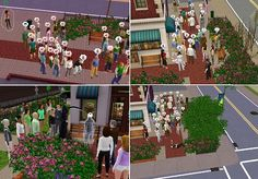 """""""so my sister was playing the sims and made her sim go play for tips infront of the theatre. eventually the entire town was there watching her play, and they all got tired and hungry but wouldnt leave lol. then one lady died, and everyone started passing out. the next time an old man died, then a guy died. and ever since then when ever she plays for tips, someone dies or passes out! lmao"""""""