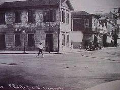 Praia de Botafogo esquina com a Rua São Clemente 1928