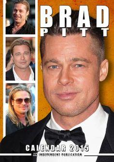 Brad Pitt Calendar - 2015 Wall Calendars - Celebrity Calendars - Monthly Wall Calendar by Dream International by MegaCalendars