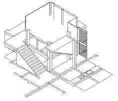 Peter Eisenman, House VI section ile ilgili görsel sonucu