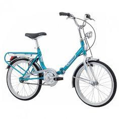 Velo pliant Firenze Vintage, 20 pouces, monovitesse ou 6 vitesses. Garanti 2 ans. Achetez votre vélo pliant au meilleur prix avec Velonline !
