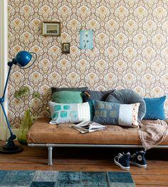 News Übersicht Bildergalerie: Modern Vintage Style - Modern trifft 70er - 70er Tapeten Haus