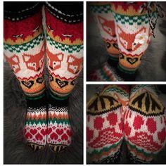 Knitting Socks, Knit Crochet, Fox, Arts And Crafts, Stockings, Knits, Fashion, Breien, Knit Socks