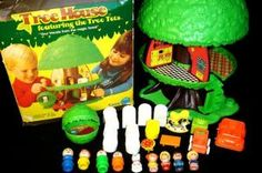 the Little People tree house- I had this!!! it was one of my favorite toys ever!! it was a Christmas gift from Santa when I was like 4 or 5