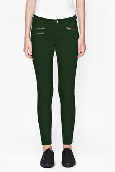 French Connection super-skinny Lilly jeans in Russian Pine