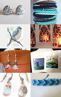 Glitz and Shades of Blue--Pinned with TreasuryPin.com