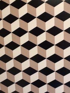 Creative Wall Painting, 3d Wall Art, Creative Walls, Geometric Origami, Geometric Wall, Geometric Designs, Cube Design, Grid Design, Half Square Triangle Quilts Pattern