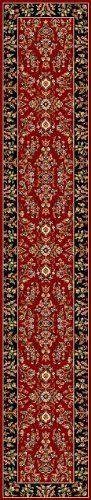 Safavieh LNH331B Lyndhurst Collection Red and Black Area Runner, 2-Feet 3-Inch by 16-Feet by Safavieh, http://www.amazon.com/dp/B0044ZRKLE/ref=cm_sw_r_pi_dp_h9SMrb0MQ8VSP
