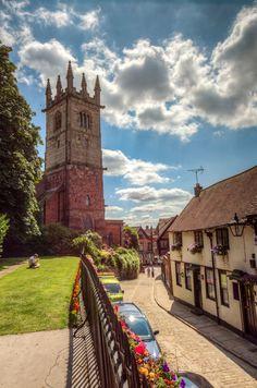 St Julian's Church and Fish Street, Shrewsbury Shrewsbury England, Shrewsbury Shropshire, Listed Building, Tudor Era, Medieval Town, Snowdonia, Chester, Ireland, Buildings